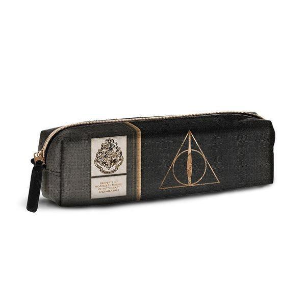 HARRY POTTER - Square Pencil Case Deathly Hallows '6x22x5'