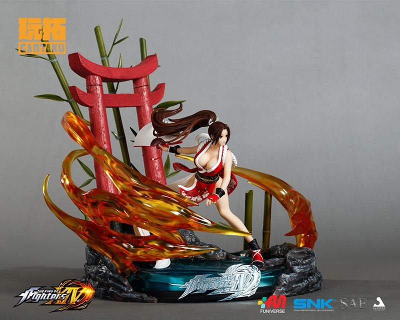 KING OF FIGHTERS XIV - Mai Shiranui 1/6 Diorama Statue - 40cm