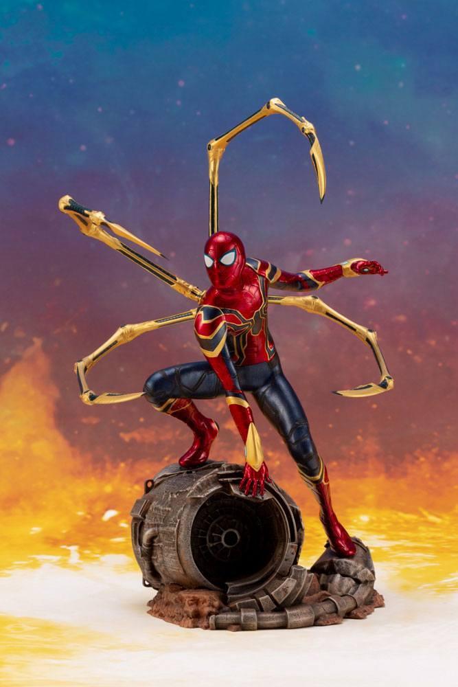 MARVEL - Iron Spider Infinity war ARTFX+ Statue - 28cm