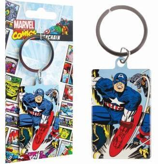 MARVEL - Porte-Cles Metal - Captain America