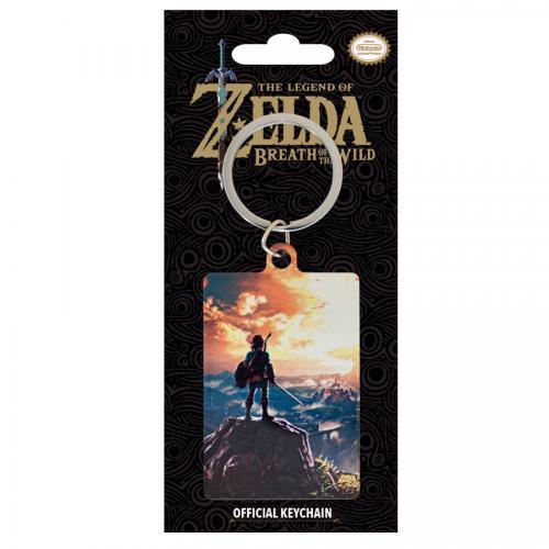ZELDA - Porte-Cles Metal - Zelda Sunset