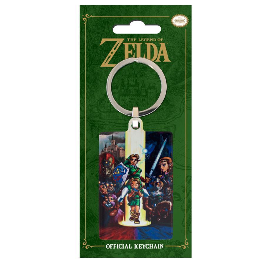 ZELDA - Porte-Cles Metal - Zelda Ocarina of Time_1