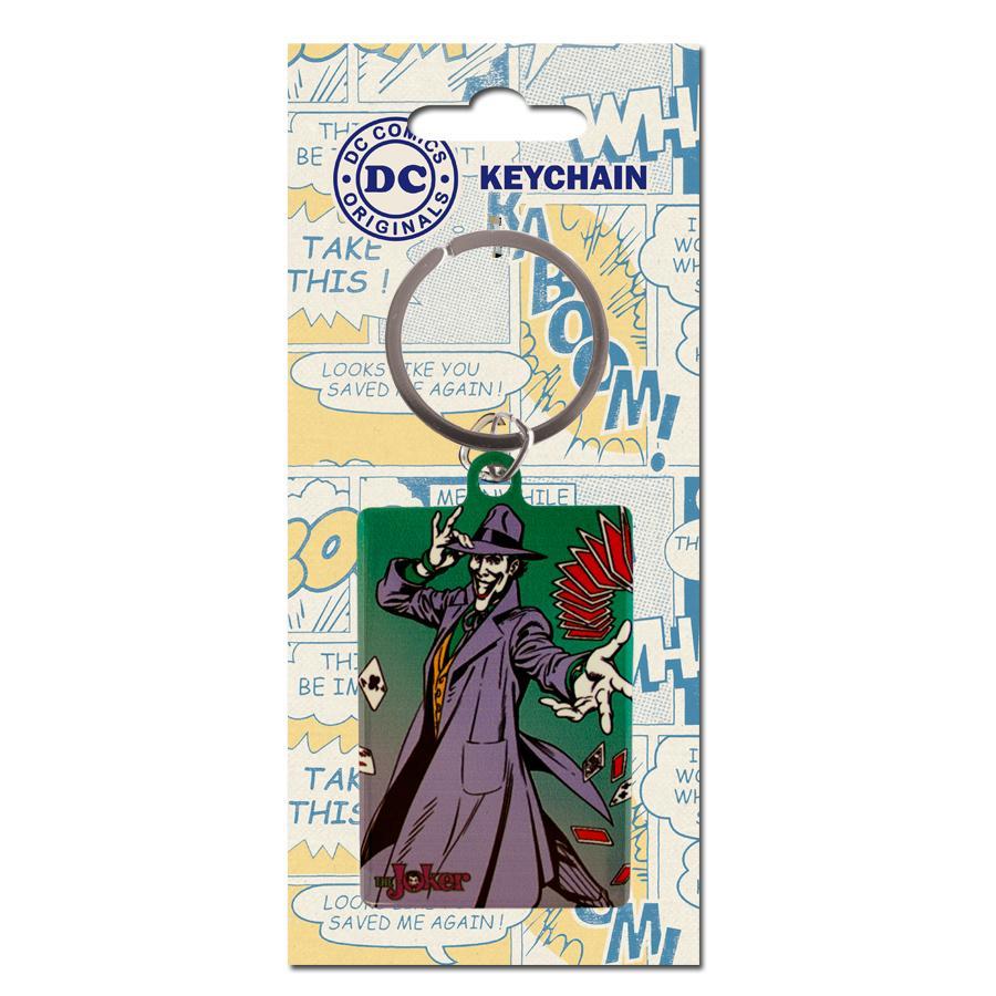 DC COMICS ORIGINALS - Porte-Cles Metal - The Joker