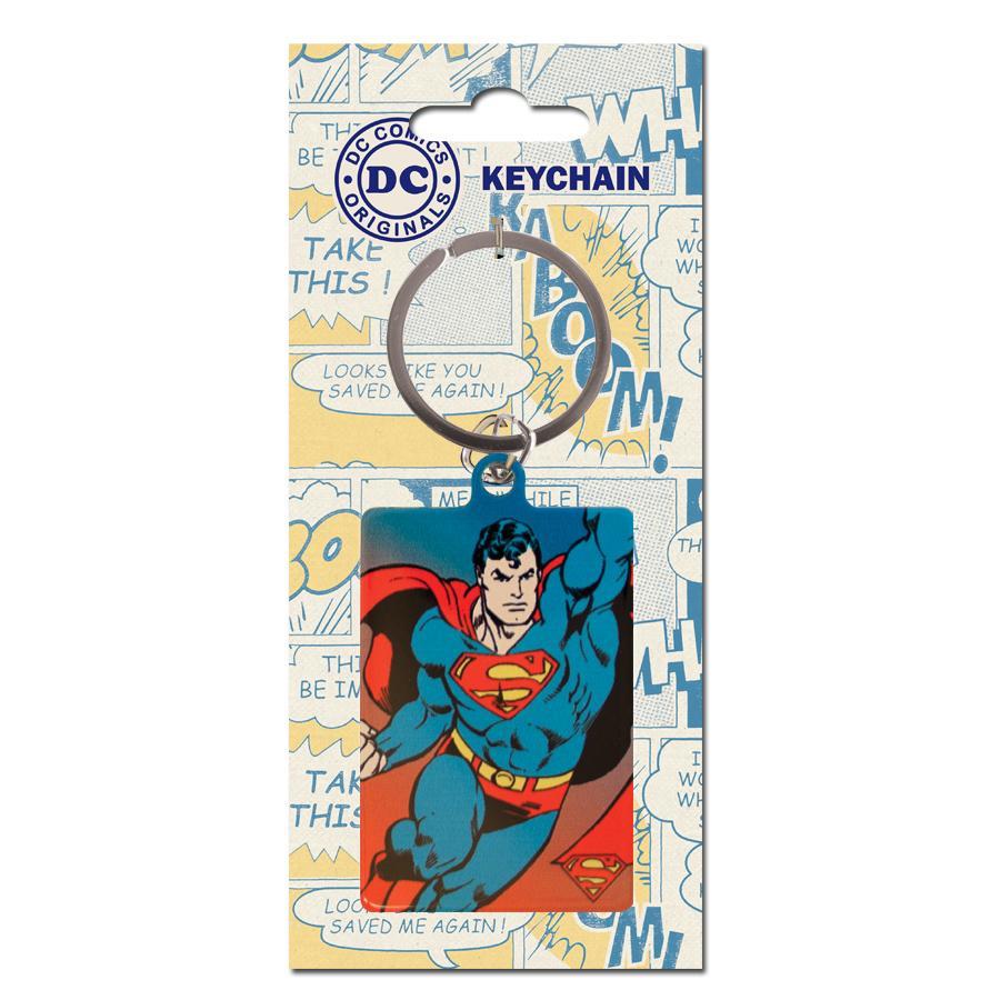 DC COMICS ORIGINALS - Porte-Cles Metal - Superman