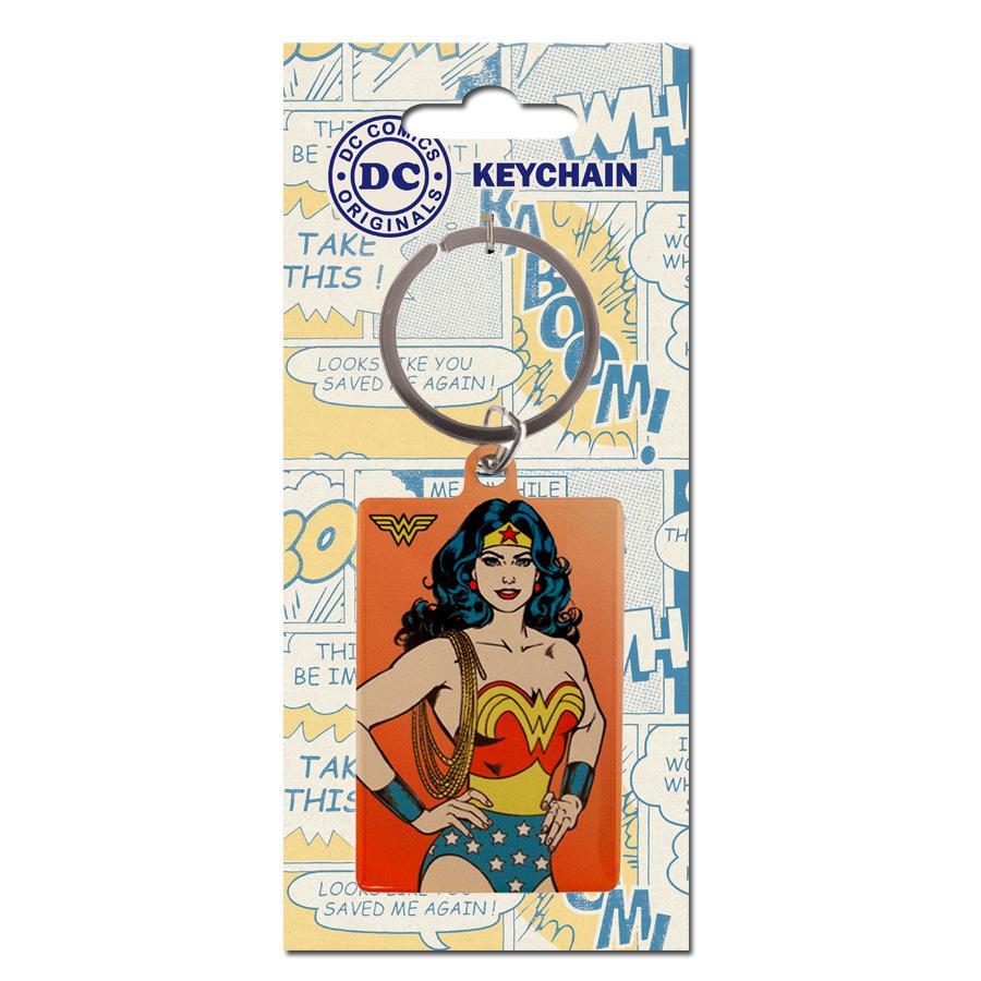 DC COMICS ORIGINALS - Porte-Cles Metal - Wonder Woman