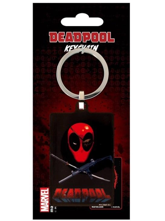 DEADPOOL - Porte-Cles Metal - Eye Patch