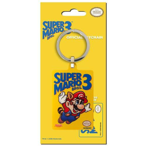NINTENDO - Porte-Cles Metal - Super Mario Bros 3