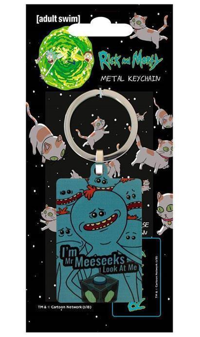 RICK & MORTY - Porte-Cles Metal - Mr Meeseeks