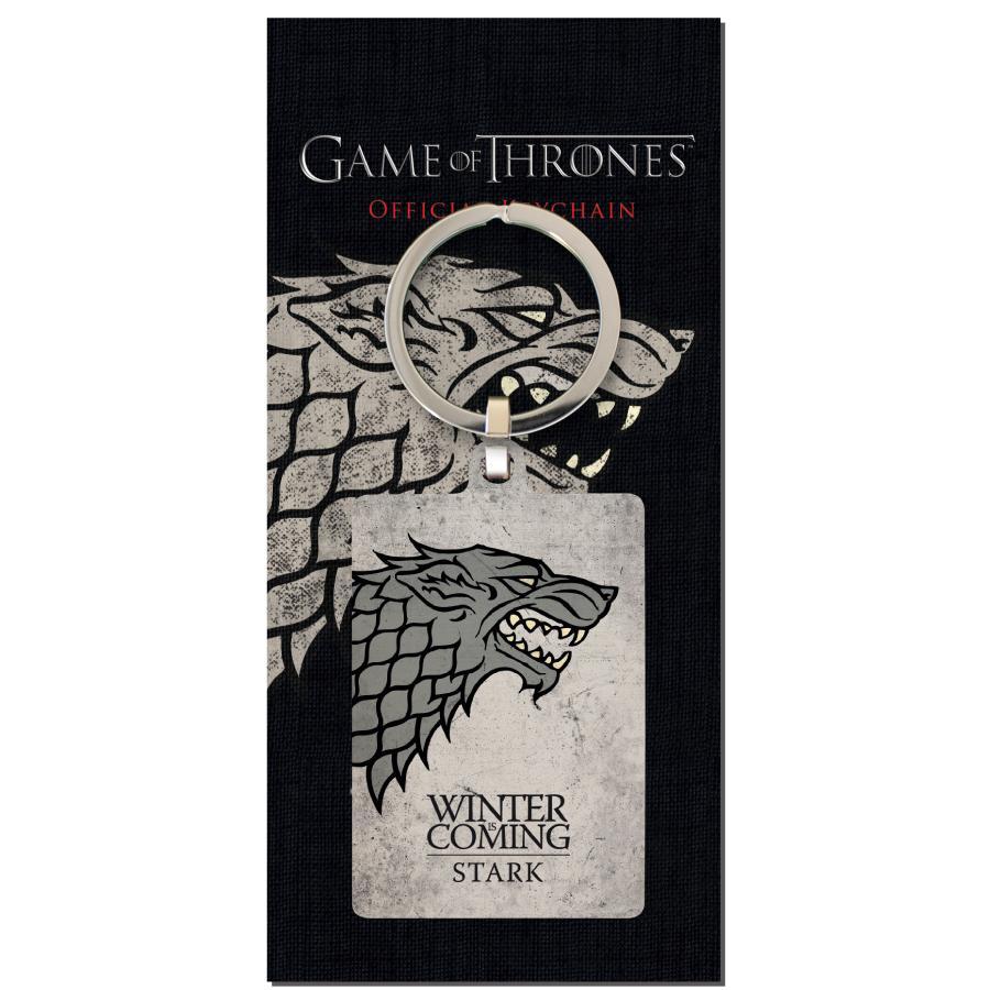 GAME OF THRONES - Porte-Cles Metal - Stark