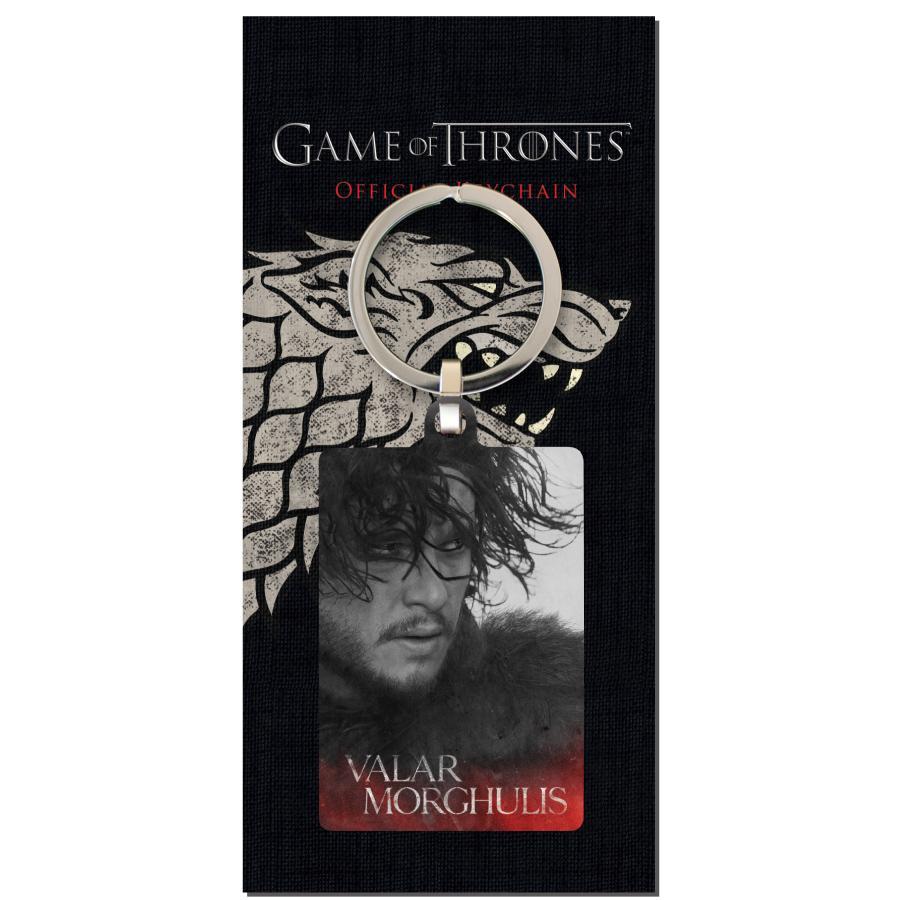GAME OF THRONES - Porte-Cles Metal - Jon Snow