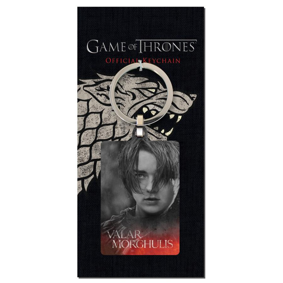 GAME OF THRONES - Porte-Cles Metal - Arya