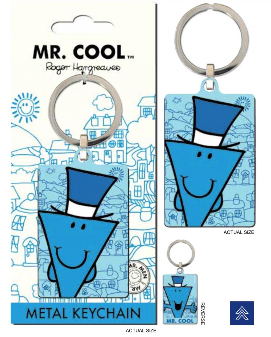MR. MEN LITTLE MISS - Porte-Cles Metal - Mr. Cool