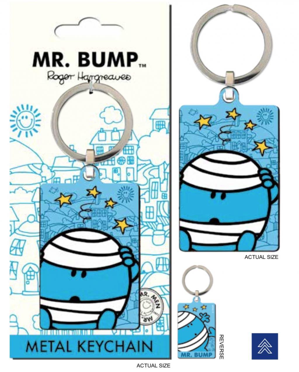 MR. MEN LITTLE MISS - Porte-Cles Metal - Mr. Bump