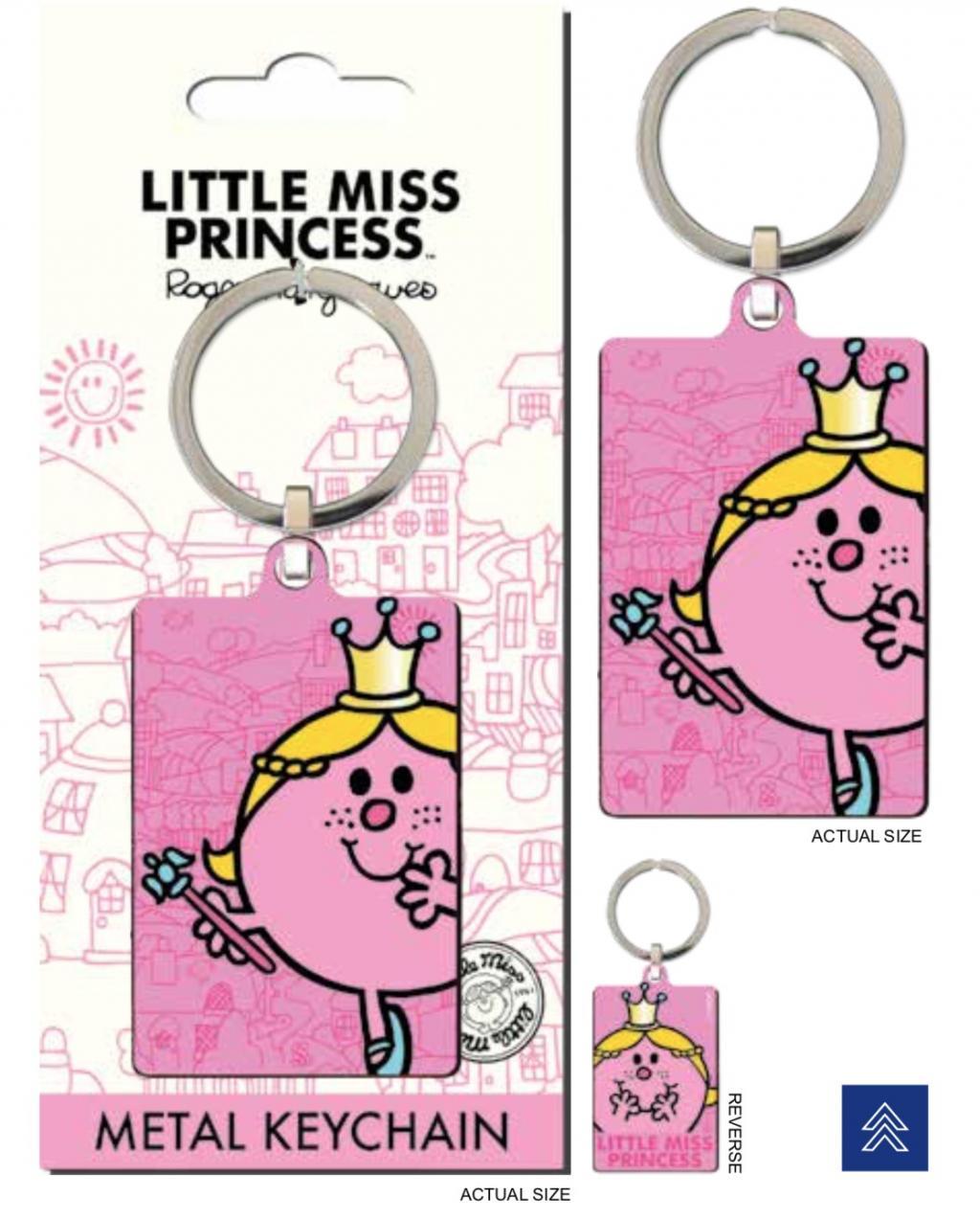 MR. MEN LITTLE MISS - Porte-Cles Metal - Little Miss Princess