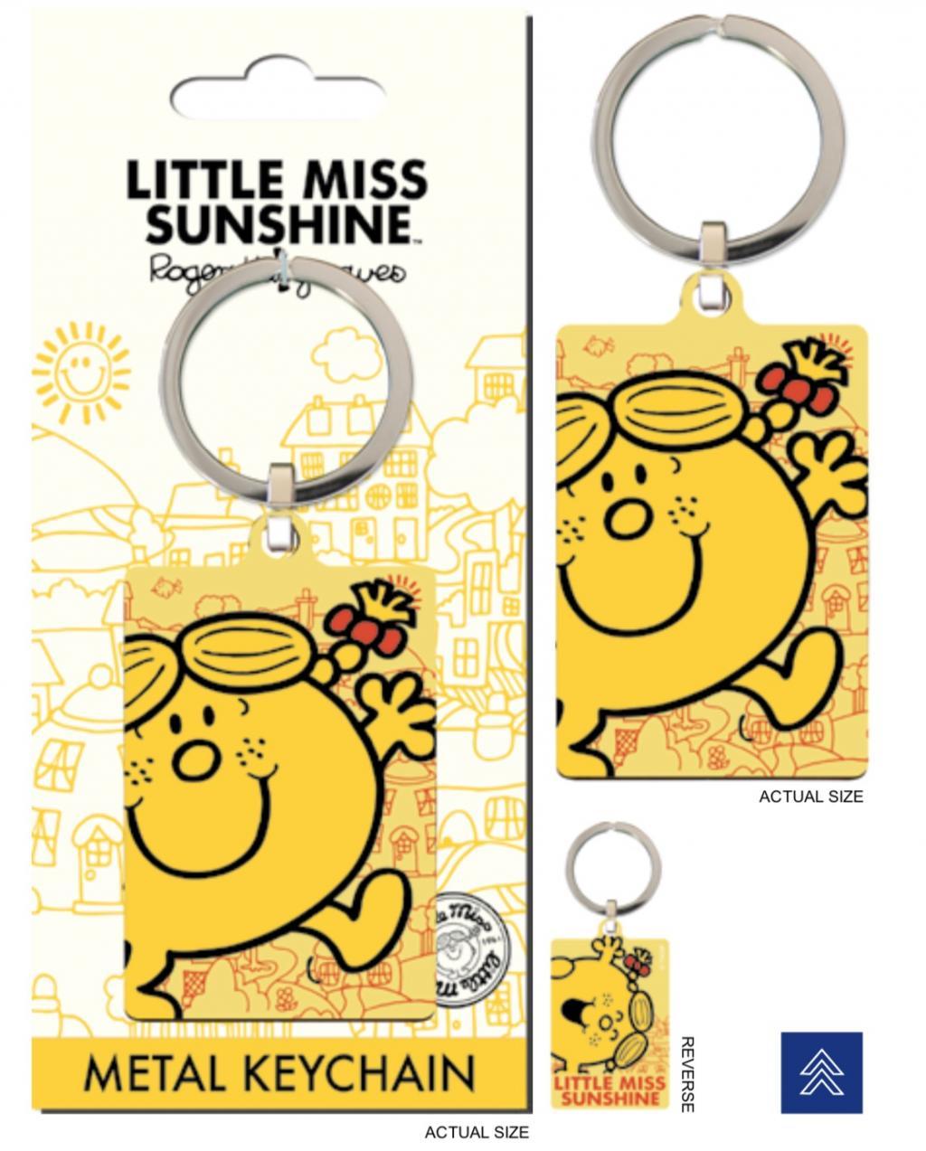 MR. MEN LITTLE MISS - Porte-Cles Metal - Little Miss Sunshine