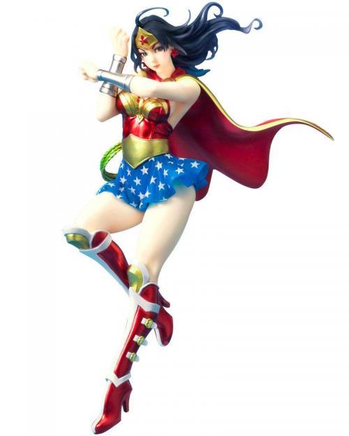 DC COMICS - Armored Wonder Woman - Statuette Bishoujo 24cm