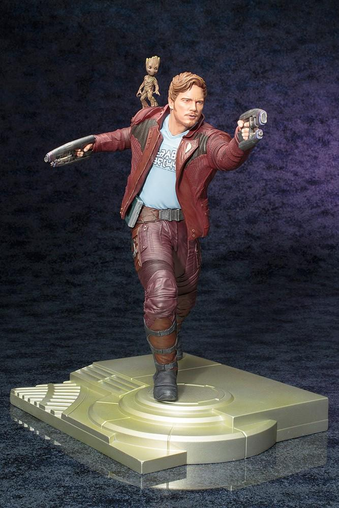 MARVEL - Star-Lord with Groot ARTFX Statue - 1/6 Scale_2