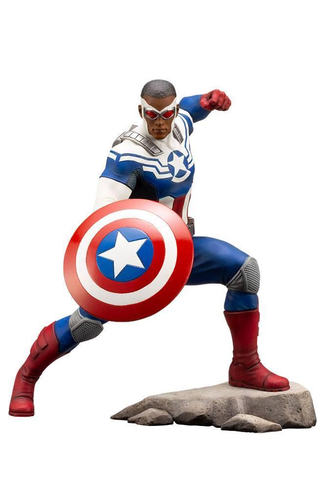 MARVEL - Comics - PVC ARTFX 1/10 - Statuette Captain America - 19cm_1