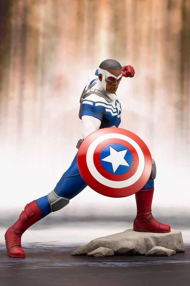 MARVEL - Comics - PVC ARTFX 1/10 - Statuette Captain America - 19cm_2
