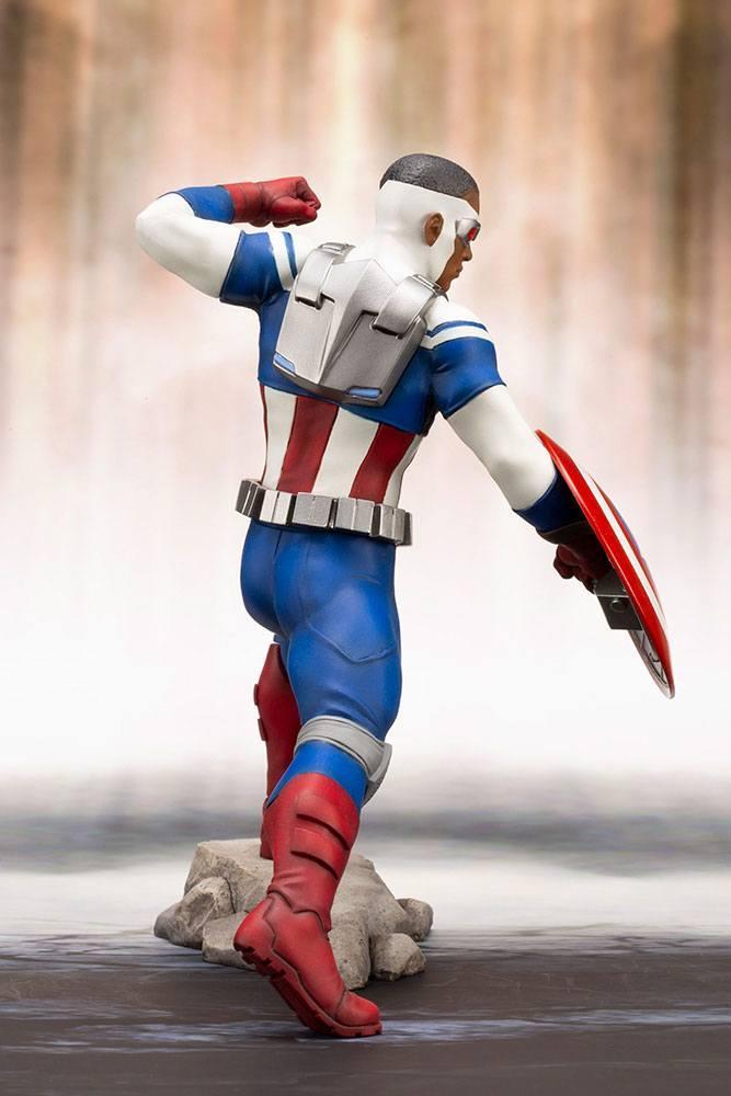 MARVEL - Comics - PVC ARTFX 1/10 - Statuette Captain America - 19cm_3