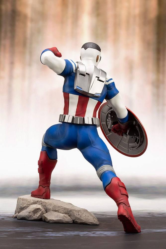 MARVEL - Comics - PVC ARTFX 1/10 - Statuette Captain America - 19cm_4