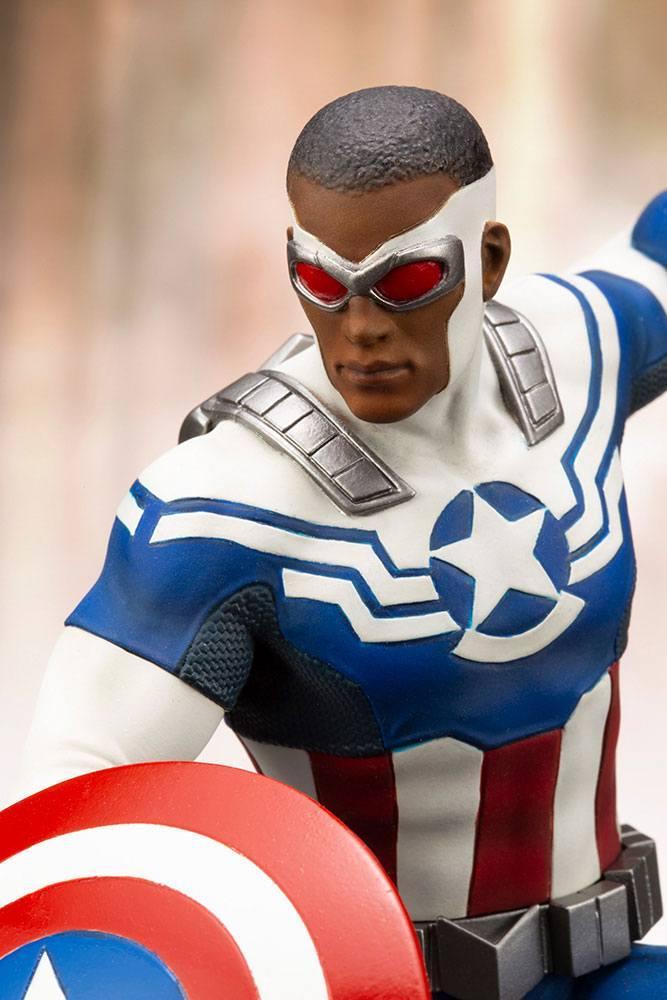 MARVEL - Comics - PVC ARTFX 1/10 - Statuette Captain America - 19cm_5