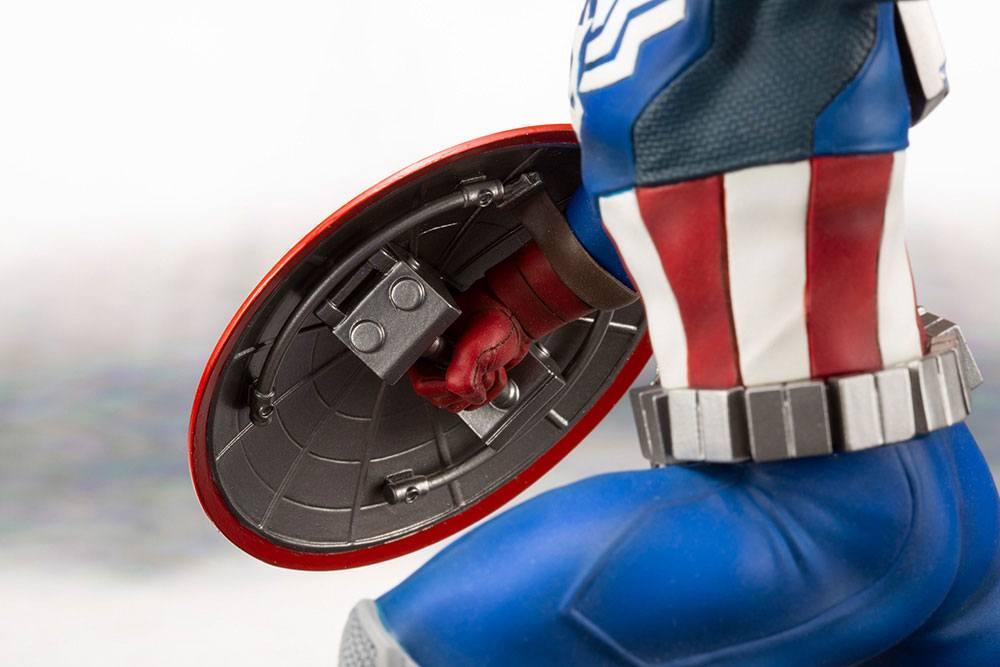 MARVEL - Comics - PVC ARTFX 1/10 - Statuette Captain America - 19cm_6