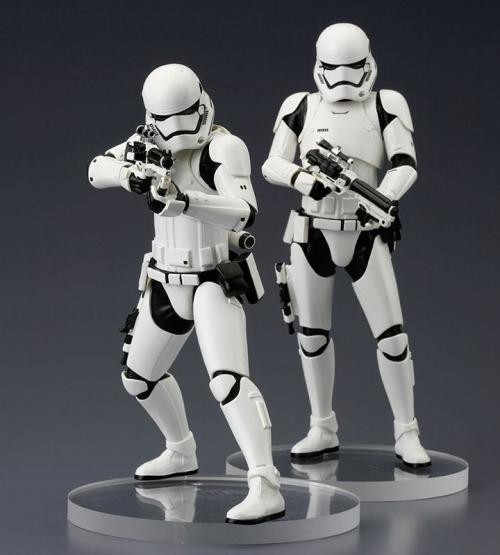 STAR WARS VII - ARTFXJ - 2 Figs Pack -  First Order Stormtrooper