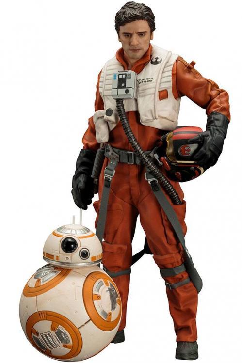 STAR WARS VII - ARTFXJ - 2 Figs Pack - Poe Dameron & BB-8