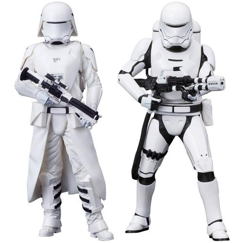 STAR WARS VII - ARTFXJ - 2 Figs Pack - Snowtrooper & Flametrooper