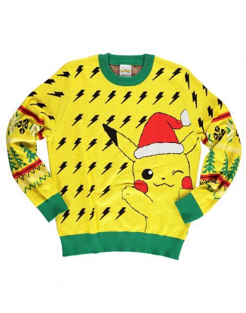 POKEMON - Christmas Pikachu - Pull de Noël (L)
