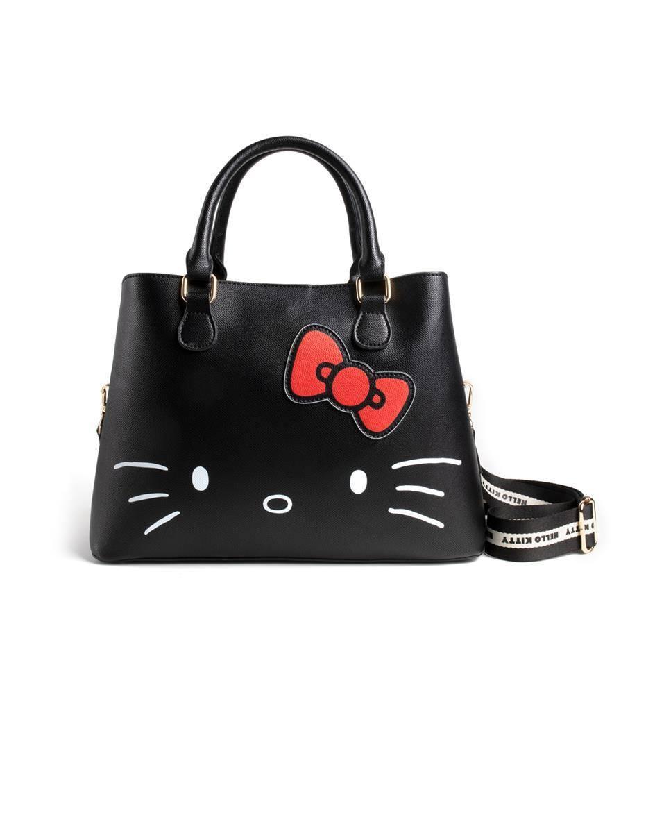 HELLO KITTY - Shopper Bag avec Hello Kitty en Relief et Imprimé