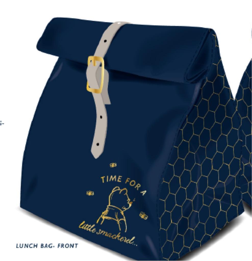WINNIE THE POOK - Lunch Bag 'Textile' - Winnie