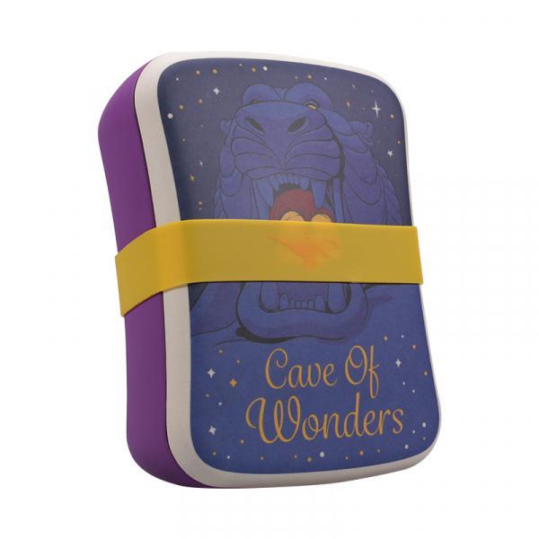 DISNEY - Aladdin Bamboo Lunch Box - Cave of Wonders