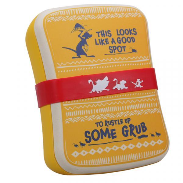 DISNEY - Le Roi Lion Bamboo Lunch Box - Timon