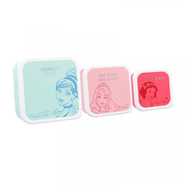 DISNEY - Set of 3 Lunch Box - Princess