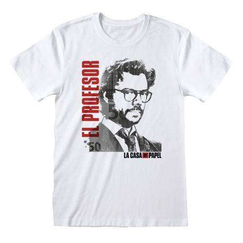 LA CASA DE PAPEL - T-Shirt - El Profesor - (M)