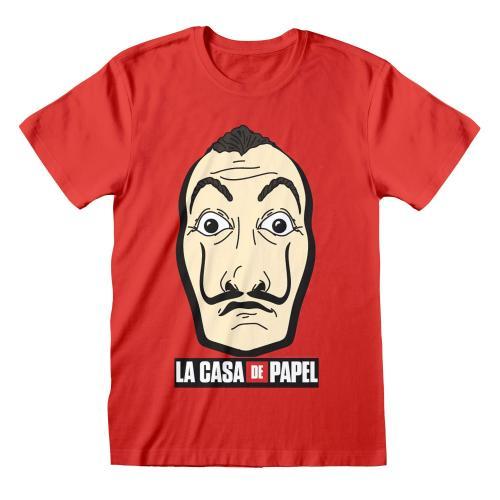 LA CASA DE PAPEL - T-Shirt - Mask & Logo - (XL)