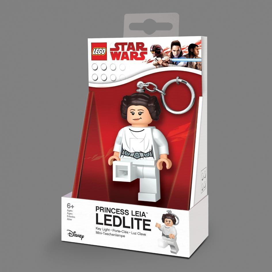 STAR WARS - Lego Princess Leia 'The Last Jedi' Key Light