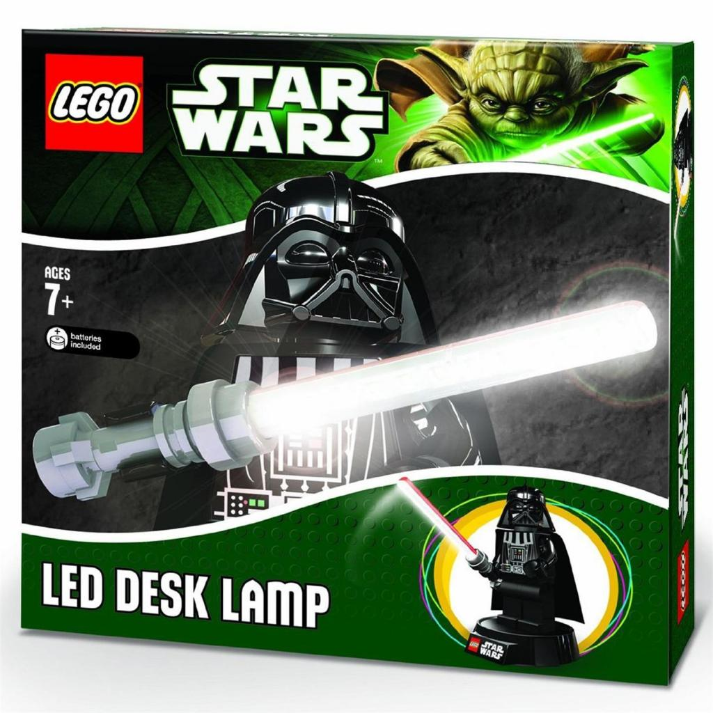 STAR WARS - LEGO LED - Lampe USB de bureau Dark Vador - 23 cm
