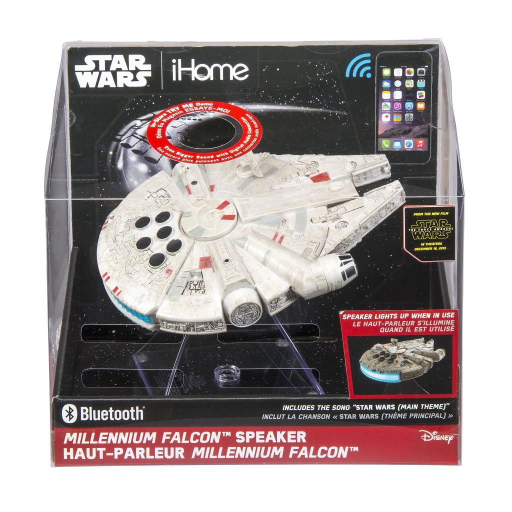 STAR WARS - Bluetooth Millenium Falcon Speaker 'IHome'_2