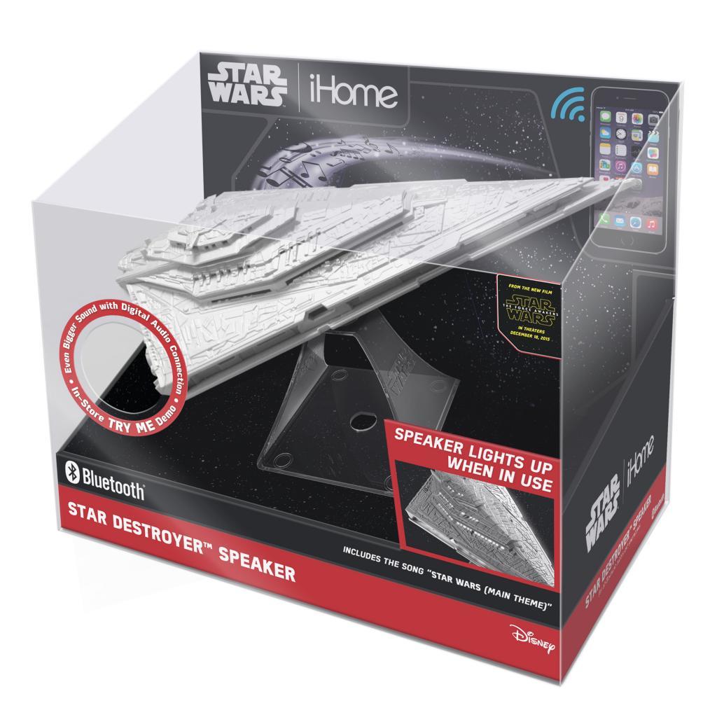 STAR WARS - Bluetooth Star Destroyer Speaker 'IHome'_2