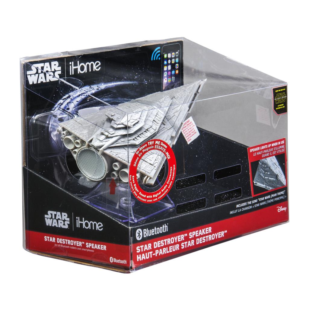 STAR WARS - Bluetooth Star Destroyer Speaker 'IHome'_4