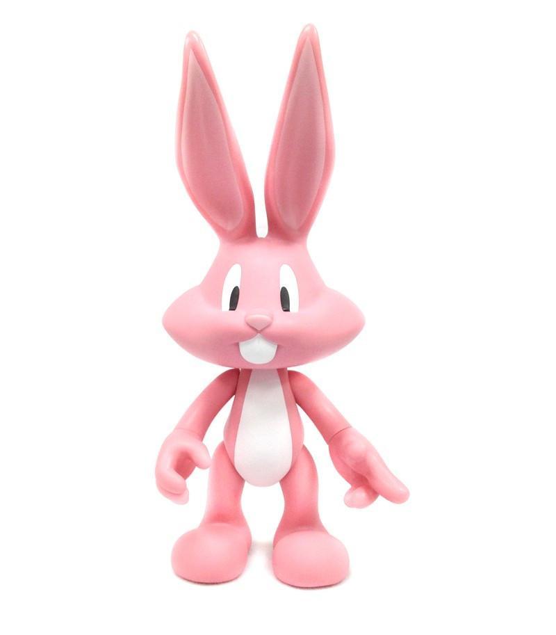 LOONEY TUNES - Figurine Artoyz - Bugs Bunny Rose Pale - 27cm