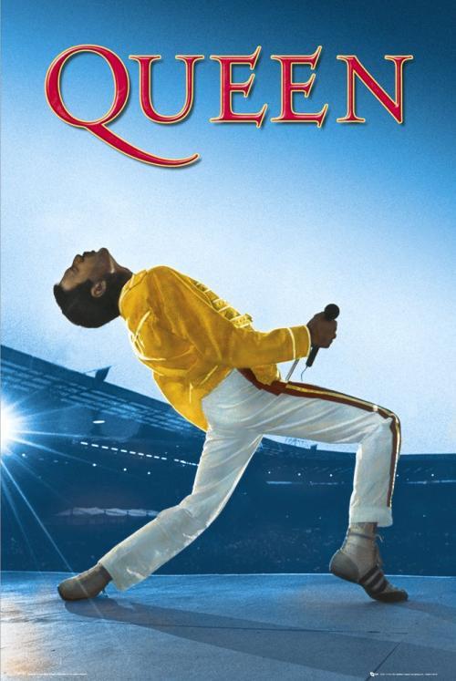QUEEN - Live at Wembley - Poster '61x91.5cm'