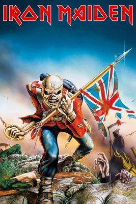 IRON MAIDEN - Poster 61X91 - Trooper