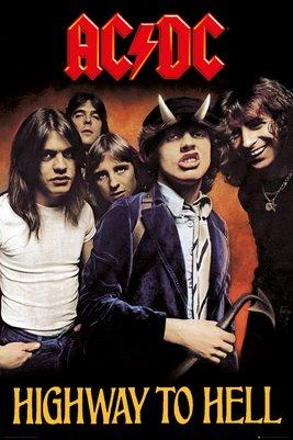 AC/DC - Poster 61X91 - Highway to Hell