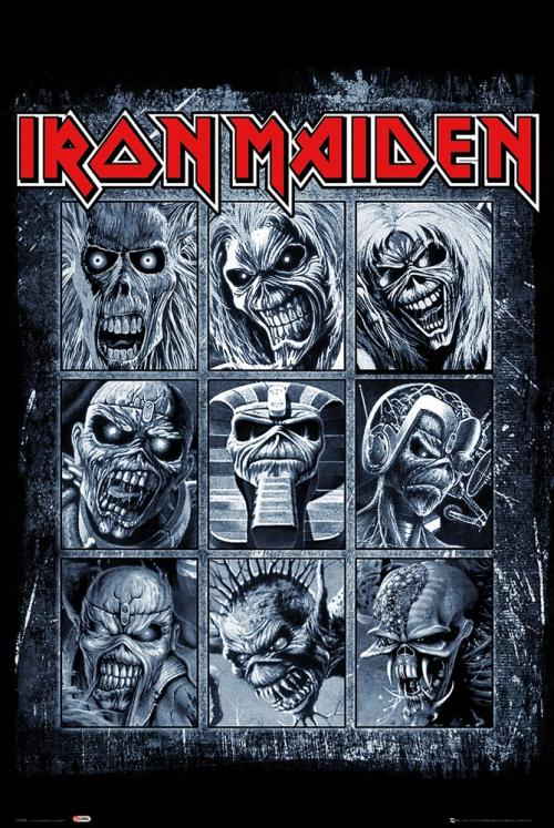 IRON MAIDEN - Eddies - Poster '61x91.5cm'