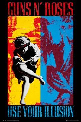 GUNS N' ROSES - Poster 61X91 - Illsuion