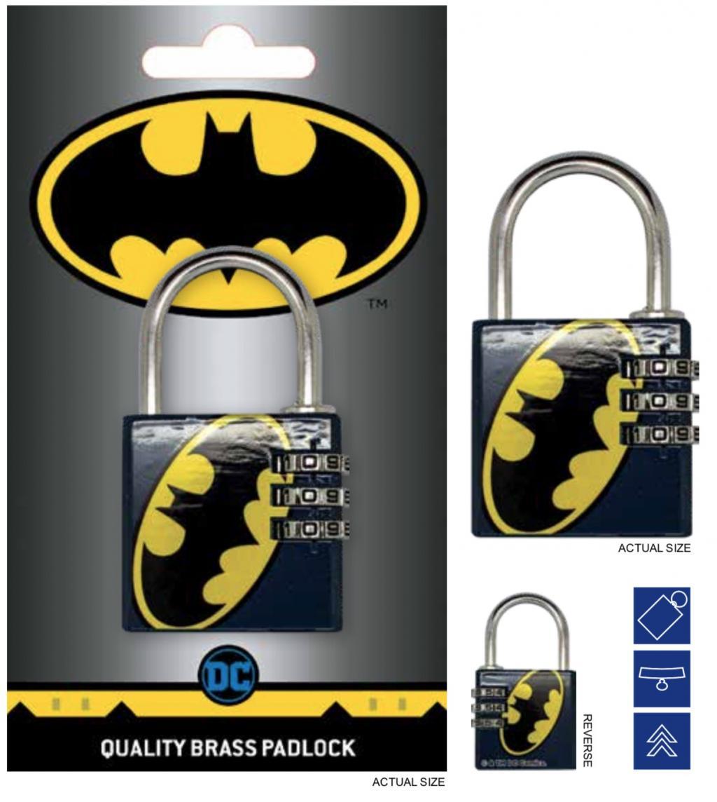 DC COMICS - Cadenas avec code - Batman